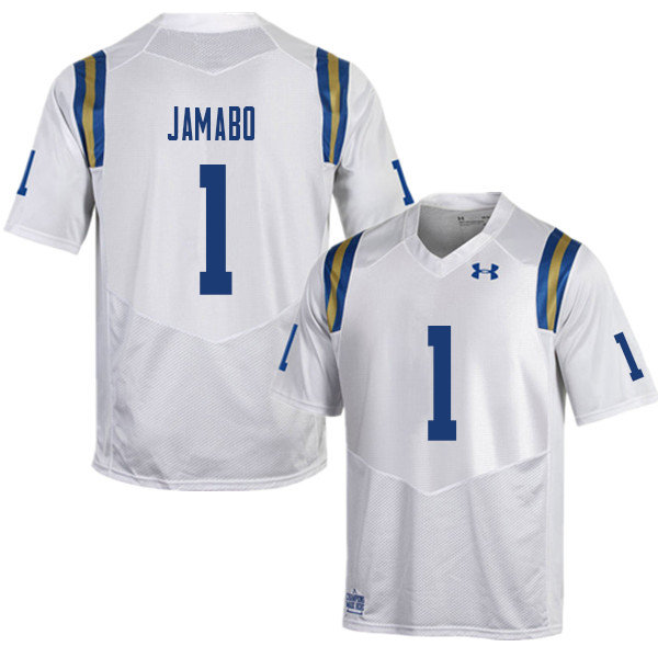 Men #1 Soso Jamabo UCLA Bruins College Football Jerseys Sale-White