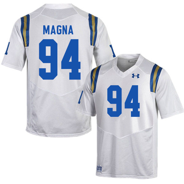 Men #94 Dovid Magna UCLA Bruins College Football Jerseys Sale-White