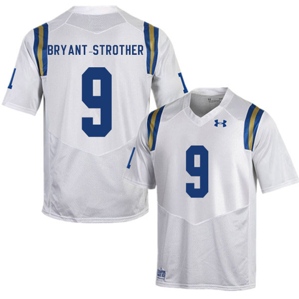 Men #9 Choe Bryant-Strother UCLA Bruins College Football Jerseys Sale-White