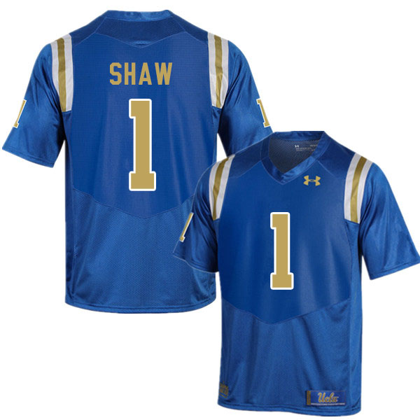 Men #1 Jay Shaw UCLA Bruins College Football Jerseys Sale-Blue
