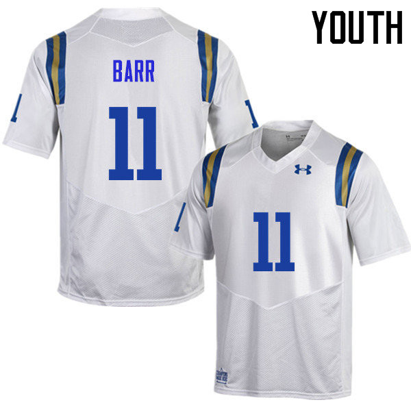 Youth #11 Anthony Barr UCLA Bruins Under Armour College Football Jerseys Sale-White