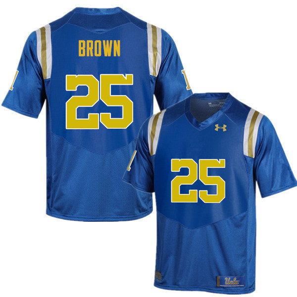 Men #25 Antonio Brown UCLA Bruins Under Armour College Football Jerseys Sale-Blue