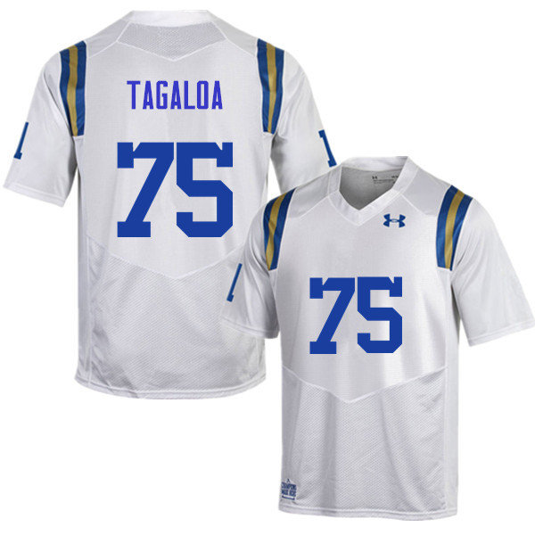 Men #75 Boss Tagaloa UCLA Bruins Under Armour College Football Jerseys Sale-White