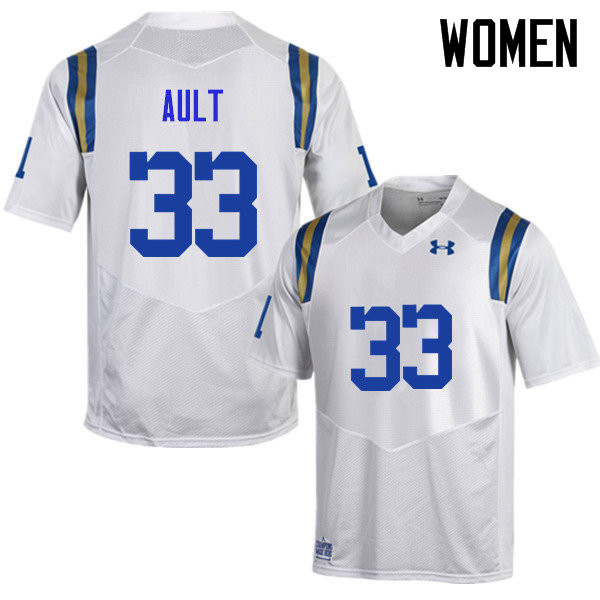 Women #33 Chase Ault UCLA Bruins Under Armour College Football Jerseys Sale-White