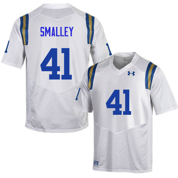 Men #41 Jayce Smalley UCLA Bruins Under Armour College Football Jerseys Sale-White