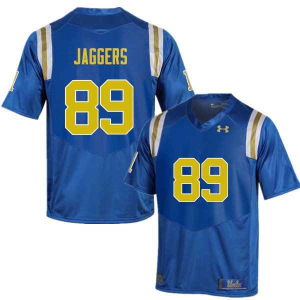 Men #89 Jimmy Jaggers UCLA Bruins Under Armour College Football Jerseys Sale-Blue