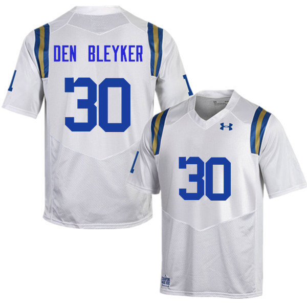 Men #30 Johnny Den Bleyker UCLA Bruins Under Armour College Football Jerseys Sale-White