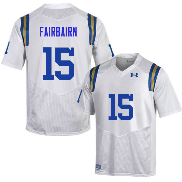 Men #15 Ka'imi Fairbairn UCLA Bruins Under Armour College Football Jerseys Sale-White