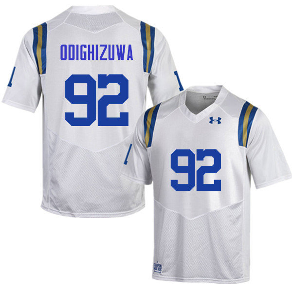 Men #92 Osa Odighizuwa UCLA Bruins Under Armour College Football Jerseys Sale-White